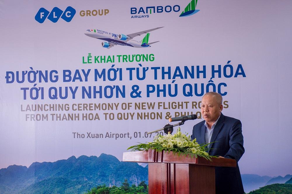 Bamboo Airways khai trương 3 đường bay mới kết nối Thanh Hóa – Quy Nhơn, Thanh Hóa – Phú Quốc, Vinh – Quy Nhơn
