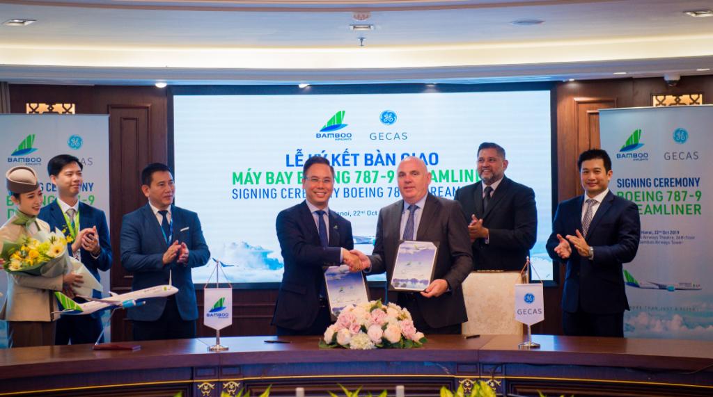Hãng hàng không Bamboo Airways nhận bàn giao hai chiếc Boeing 787-9 Dreamliner