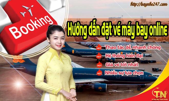 Hướng dẫn đặt vé máy bay tại baynhe247.com