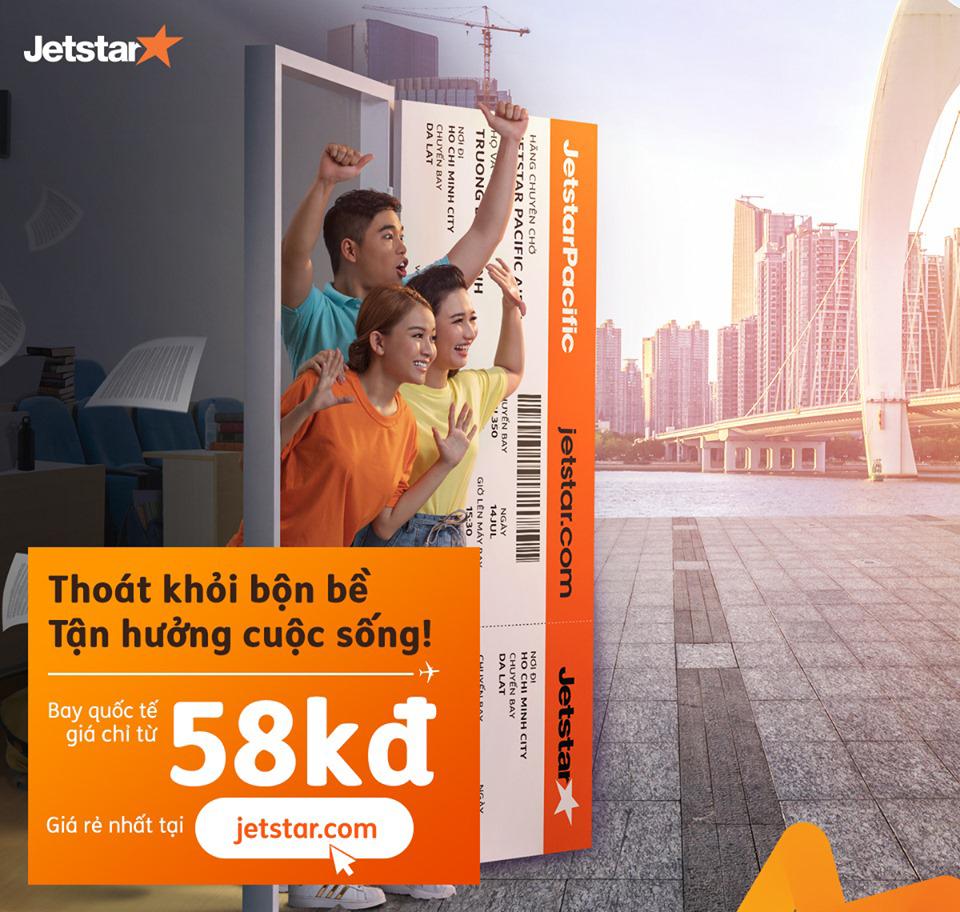 Jetstar - Bao La Vé Rẻ Vi Vu Mùa Thu Giá Từ 58k