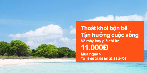 Jetstar Khuyến Mãi Sài Gòn Nha Trang Chỉ 11.000 Vnđ