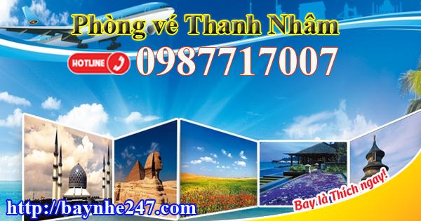 Vé máy bay đường Cần Vương thành phố Quy Nhơn